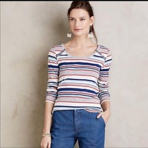 Cute and comfy top from Anthropologie!